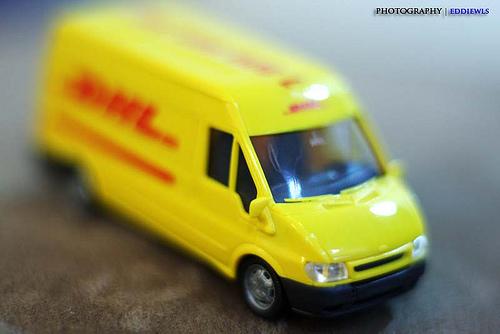 DHL Vrooom vrooomm... by Eddie Wls